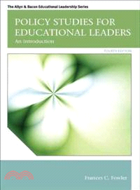 Policy studies for educational leaders : an introduction /
