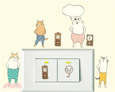 itaste小品味裝飾貼貓小姐系列自在生活