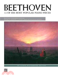 Beethoven : 13 of his most popular piano pieces. Practical performing ed.