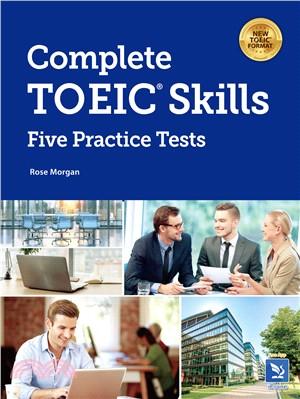Complete TOEIC skills : five practice tests