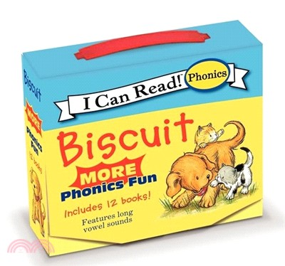 Biscuit More 12-Book Phonics Fun (12-Mini Books)