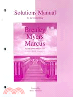 Solutions Manual to Accompany Fundamentals of Corporate Finance