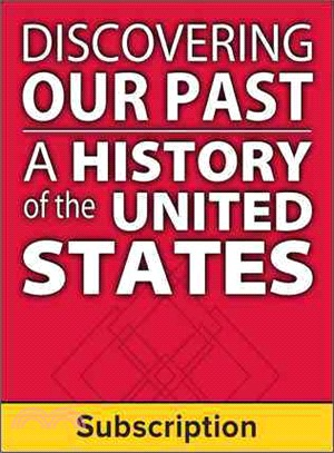Discovering Our Past ― A History of the United States, Student-suite 1-year Subscription