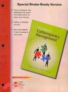 Essentials of Contemporary Management