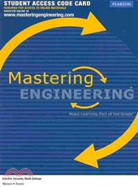 Electric Circuits, Masteringengineering Standalone Access Card