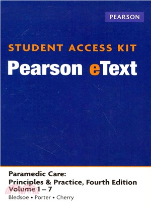 Paramedic Care Pearson Etext Access Card ― Principles & Practice