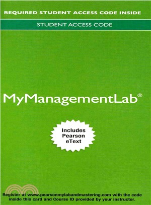 Understanding and Managing Organizational Behavior, 2014 Mymanagementlab With Pearson Etext Access Card