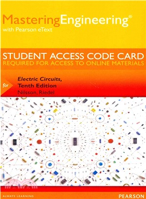 Electric Circuits MasteringEngineering Access Code ─ With Pearson Etext