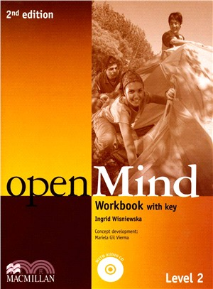 Open Mind 2/e (2) WB with Audio CD/1片 and Key