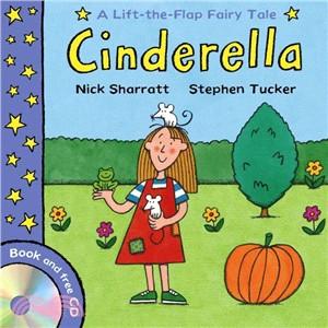 Lift-the-Flap Fairy Tales: Cinderella (1平裝 + CD)
