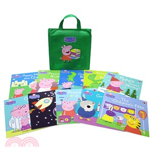 Peppa Pig Green Bag Collection (10平裝 附綠色書袋)
