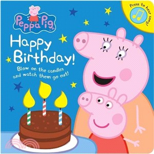 Peppa Pig: Happy Birthday! (硬頁音效書)