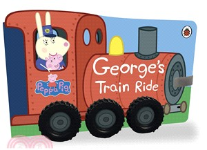Peppa Pig: George's Train Ride (硬頁車輪書)