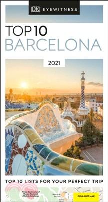 DK Eyewitness Top 10 Barcelona:2021