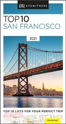 DK Eyewitness Top 10 San Francisco:2021 (Travel Guide)