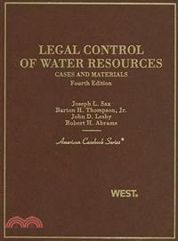 Legal Control of Water Resources—Cases and Materials