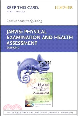 Elsevier Adaptive Quizzing for Jarvis Physical Examination and Health Assessment Retail Access Card