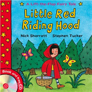 Lift-the-Flap Fairy Tales: Little Red Riding Hood (1平裝 + CD)