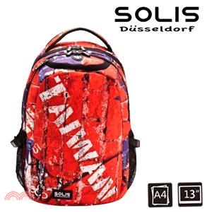 【SOLIS】台灣國旗系列 小尺寸基本款後背包