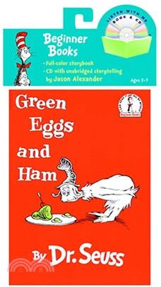 Green Eggs and Ham (1平裝+1CD) 廖彩杏老師推薦有聲書第4週