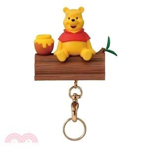 Disney磁鐵座鑰匙圈-小熊維尼