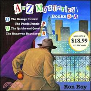 A to Z Mysteries: Books O-R (audio CD, unabridged)