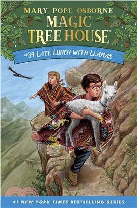 Magic Tree House #34: Late Lunch with Llamas (精裝本)