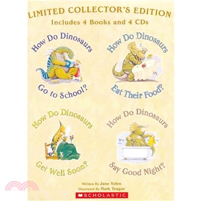 How Do Dinosaurs? Limited Collector's Edition (4平裝+4CD)