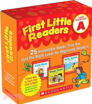 First Little Readers Pack: Guided Reading Level A (25書+1CD)