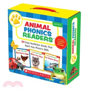 Animal Phonics Readers (24本小書 Parent Pack)