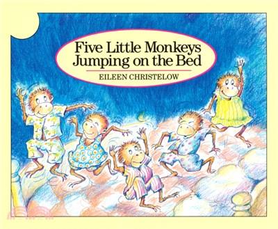 Five Little Monkeys Jumping on the Bed (平裝本) 廖彩杏老師推薦有聲書第2週