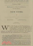 The Documentary History Of The Ratification Of The Constitution ─ Ratification Of The Constitution By The States, New York, Number 4