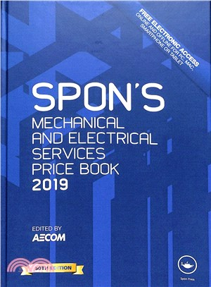 Spon's Mechanical and Electrical Services Price Book 2019