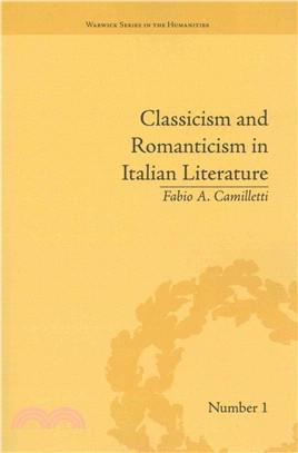 Classicism and Romanticism in Italian Literature