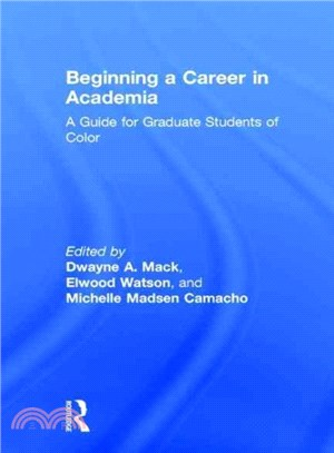Beginning a Career in Academia ― A Guide for Graduate Students of Color