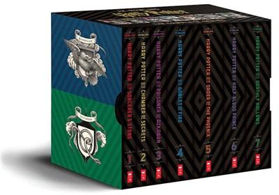 Harry Potter Books 1-7 Special Edition Boxed Set (美國版)(20週年紀念珍藏書封版)