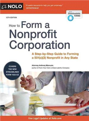 How to Form a Nonprofit Corporation ― National Edition