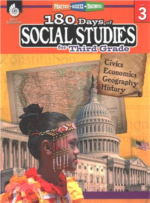 180 Days of Social Studies for Third Grade ― Practice, Assess, Diagnose