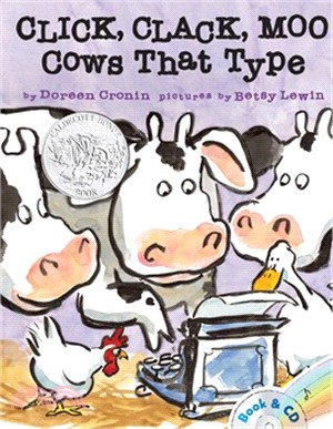 Click- Clack- Moo.  : Cows That Type