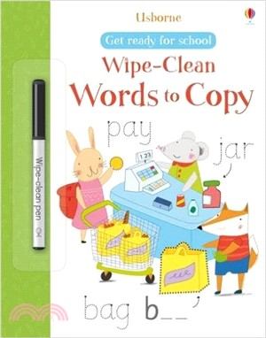 Get Ready for School: Words to Copy (擦寫書)