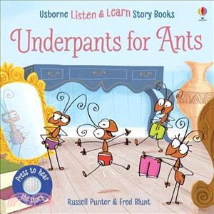 Usborne Underpants for Ants (硬頁有聲書)