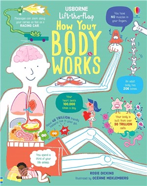 Lift-the-Flap How Your Body Works (硬頁書)