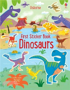 First Sticker Book Dinosaurs (new edition)
