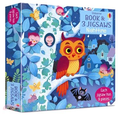 Usborne Book & Jigsaws: Night Time