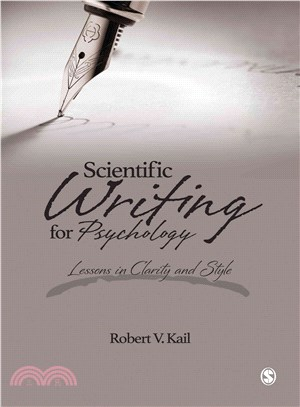 Scientific Writing for Psychology ─ Lessons in Clarity and Style