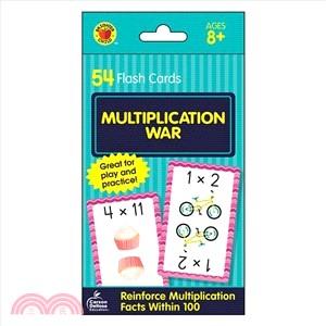Multiplication War ― Flash Cards