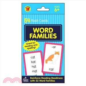 Word Families ― Flash Cards