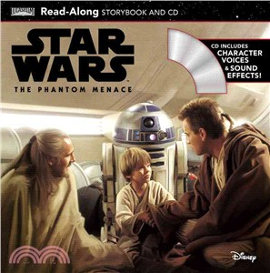 Star Wars: The Phantom Menace (1平裝+1CD)