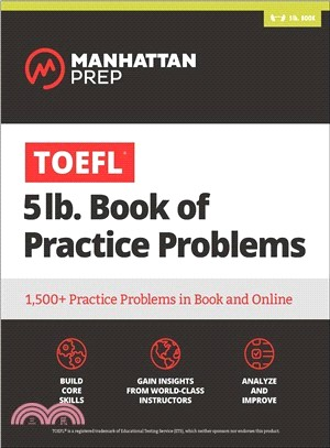 Manhattan Prep TOEFL 5lb Book of Practice Problems