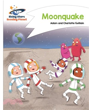 Reading Planet - Moonquake - White: Comet Street Kids